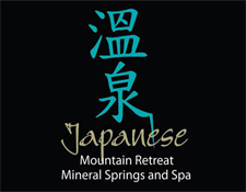 Japanese Mountain Retreat Mineral Springs and Spa Company Logo