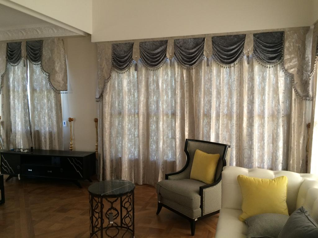 Curtains and shear curtains